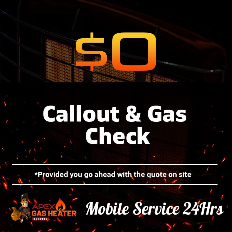 gas heater offer free service